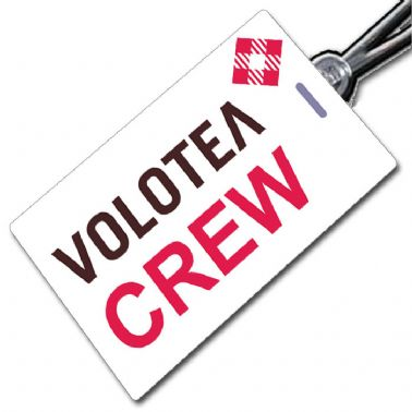 VOLOTEA simple Crew Tag